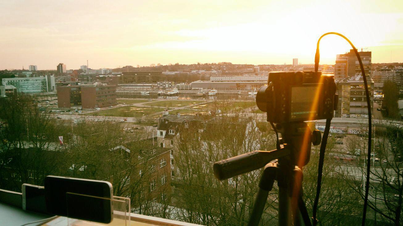 Ausblick über Kiel