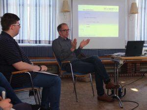 Eindrücke vom Text-Workshop